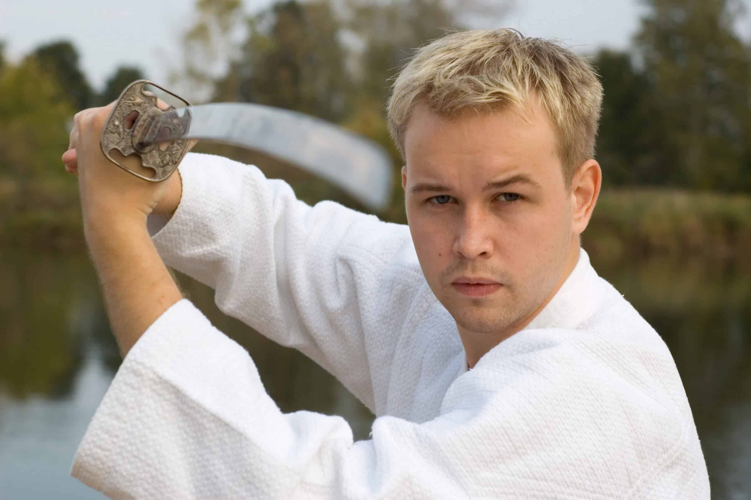 Martial Arts Lessons for Adults in _Naugatuck_ CT - Samurai Sword Posing Blog