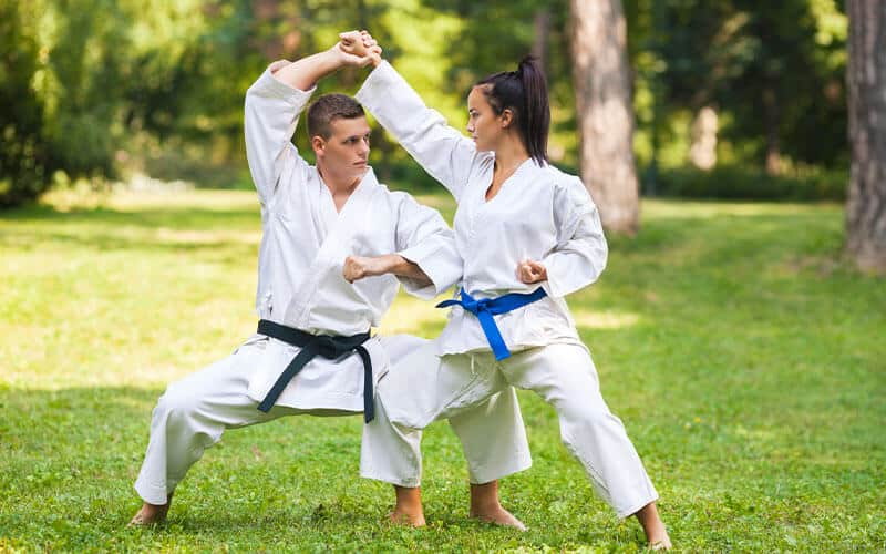 Martial Arts Lessons for Adults in _Naugatuck_ CT - Outside Martial Arts Training