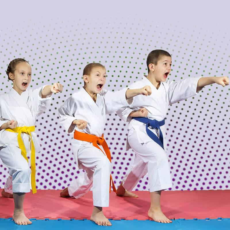 Martial Arts Lessons for Kids in _Naugatuck_ CT - Punching Focus Kids Sync