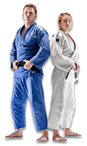 Brazilian Jiu Jitsu Lessons for Adults in _Naugatuck_ CT - BJJ Man and Woman Banner Page