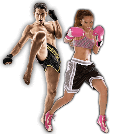 Fitness Kickboxing Lessons for Adults in _Naugatuck_ CT - Kickboxing Men and Women Banner Page