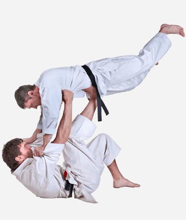 Brazilian Jiu Jitsu Lessons for Adults in _Naugatuck_ CT - BJJ Floor Throw Men